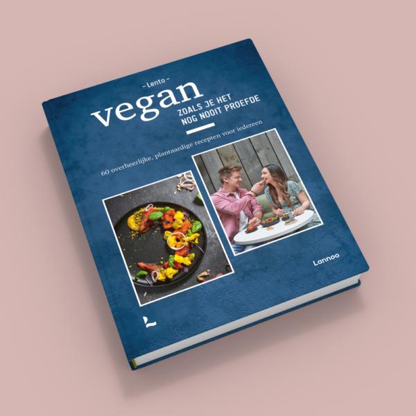 Kookboek Lento Vegan zoals je het nog nooit proefde